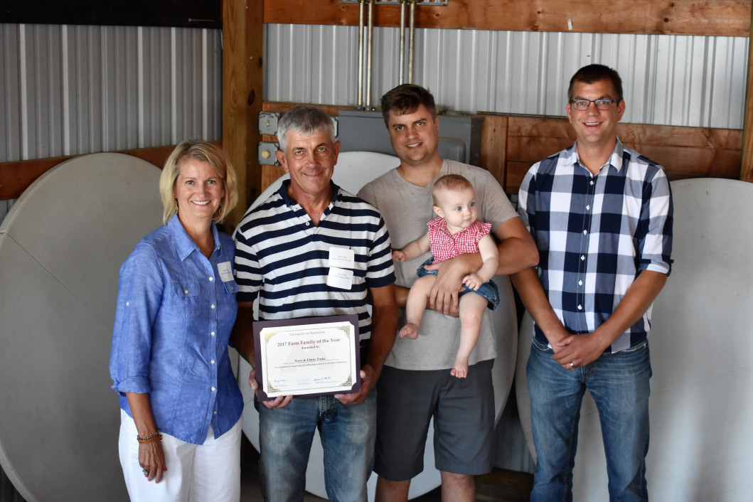 2017 Rice County Farm Family of the Year