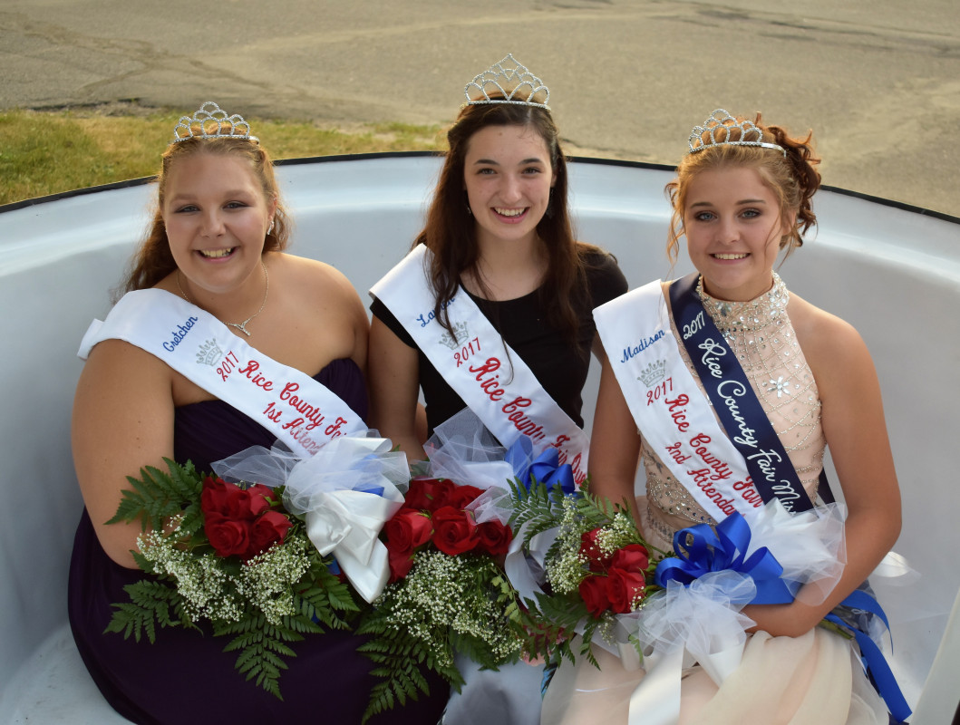 2017 Rice County Fair Royalty