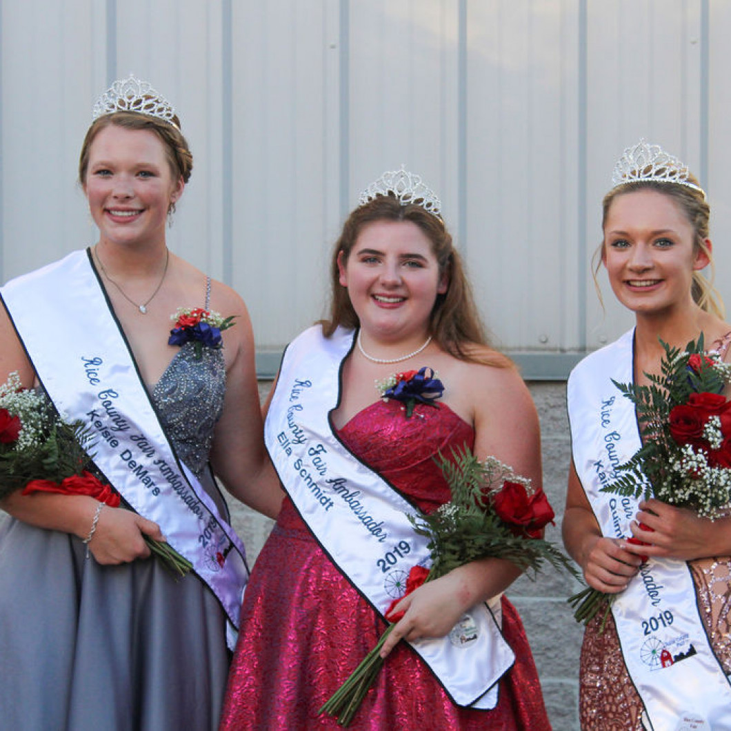 Rice County Fair Ambassadors 2019