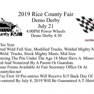 2019 DerbyEntry Form